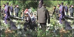 almora: Car fall into ditch one died in accident near gumkhal
