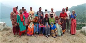 Tehri garhwal uppu village people appeal to government