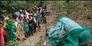 elderly couple killed by angry elephant in Uttarakhand