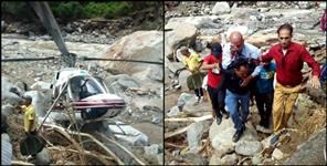 uttarkashi second helicopter emergency landing