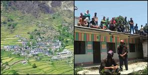 bamiyala village sealed in chamoli