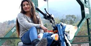 editorial: Niya thakur bullet girl of haldwani