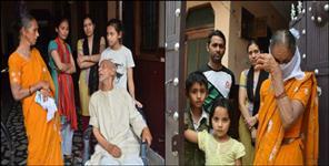 Uttar Pradesh News: Cm yogi mausi stopped at uttarakhand border