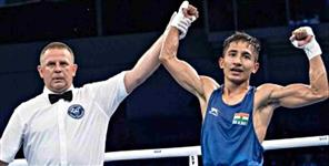 Kavindra Bisht at number four in world boxing rankings