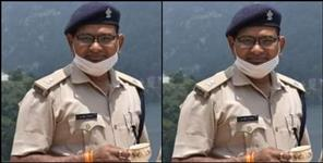 Haldwani SP Traffic Rajiv Mohan passed away