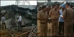 dehradun: Roof of restaurant under construction collapses in doiwala