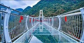 uttarakhand: glass bridge in rishikesh