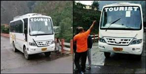 uttarkashi: DRIVER SAVED 27 PEOPLE IN UTTARAKHAND
