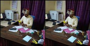 Groom reached office before marriage in Pauri Garhwal