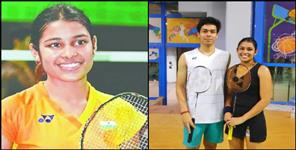 Daughter of Uttarakhand kuhu won the title of mix doubles in Egypt