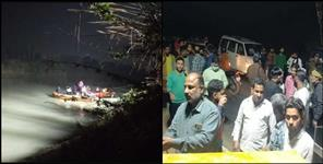 Car falls in Haridwar Gangnahar