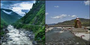 almora: Kosi river holy water cure skin diseases