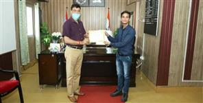Chamoli: Shiv Singh becomes Volunteer of the Month