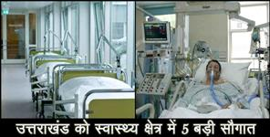 bjp: Tele cardiology in pauri garhwal three hundred bed hospital to open in dehradun