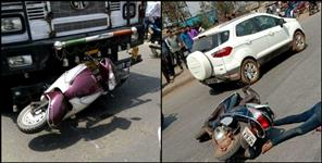 देहरादून: THREE ROAD ACCIDENT IN DEHRADUN THREE PEOPLE DIED