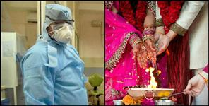 14 wedding coronavirus positive including groom bride in Dehradun