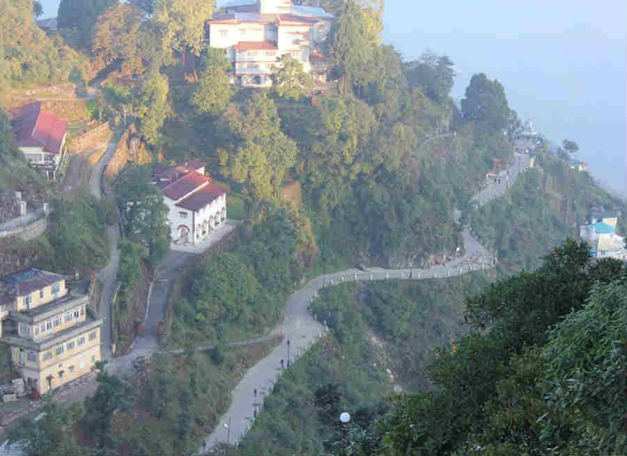 new year at mussoorie camel back road
