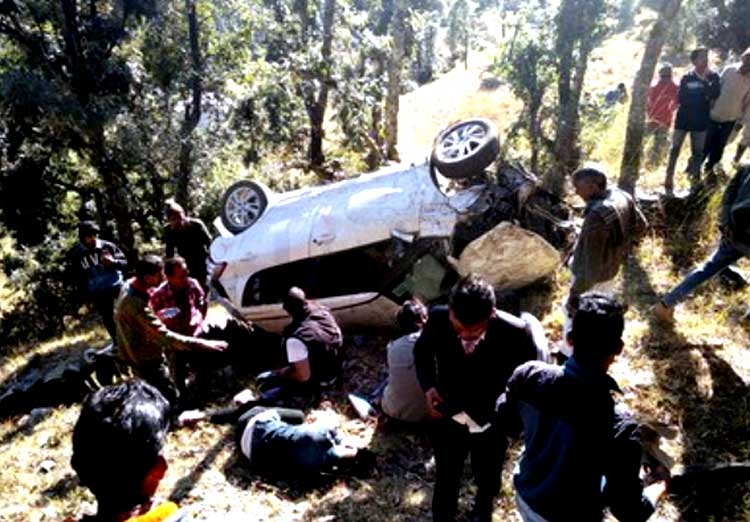 road accident in nainital