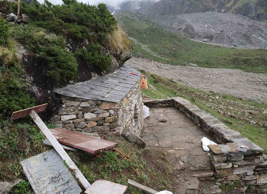 Cave in kedarnath - uttarakhand news