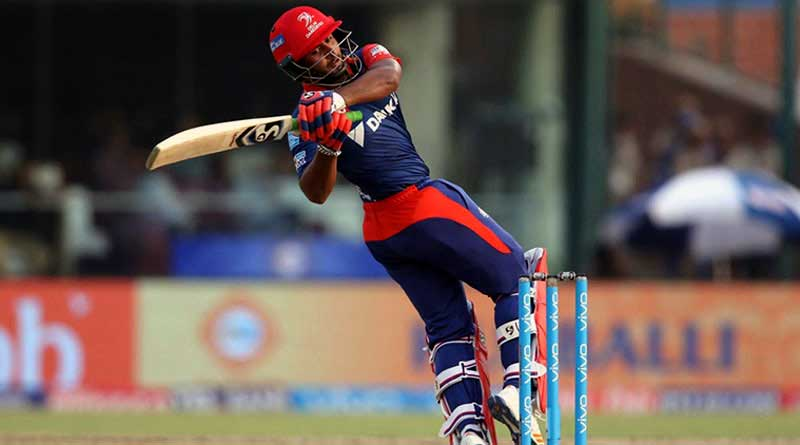 rishabh pant of Uttarakhand hits most sixes in IPL 2018