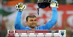 Sehwag made fifty in ice cricket